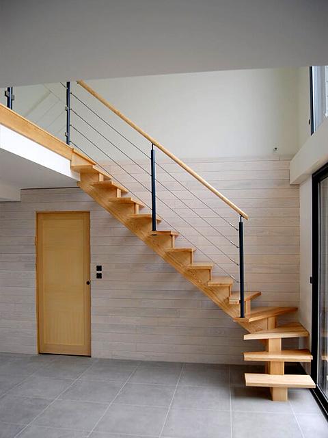 Escalier Design Saint-Brieuc En Côtes-D\'Armor 22 Avec BEC BOIS